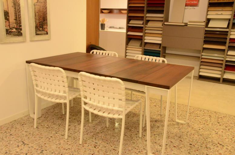 Scontatissime 4 sedie gervasoni per esterni arredo for Arredamento per giardino outlet