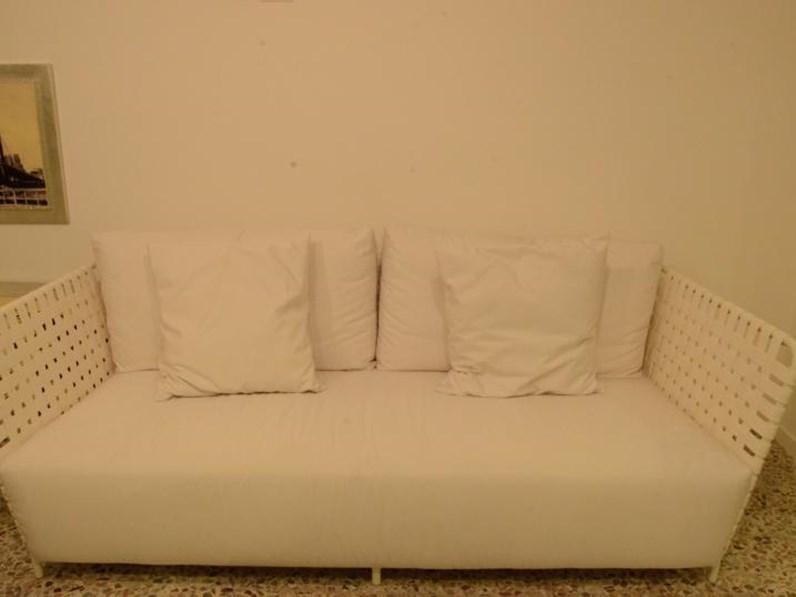 scontatissimo divano da esterno gervasoni