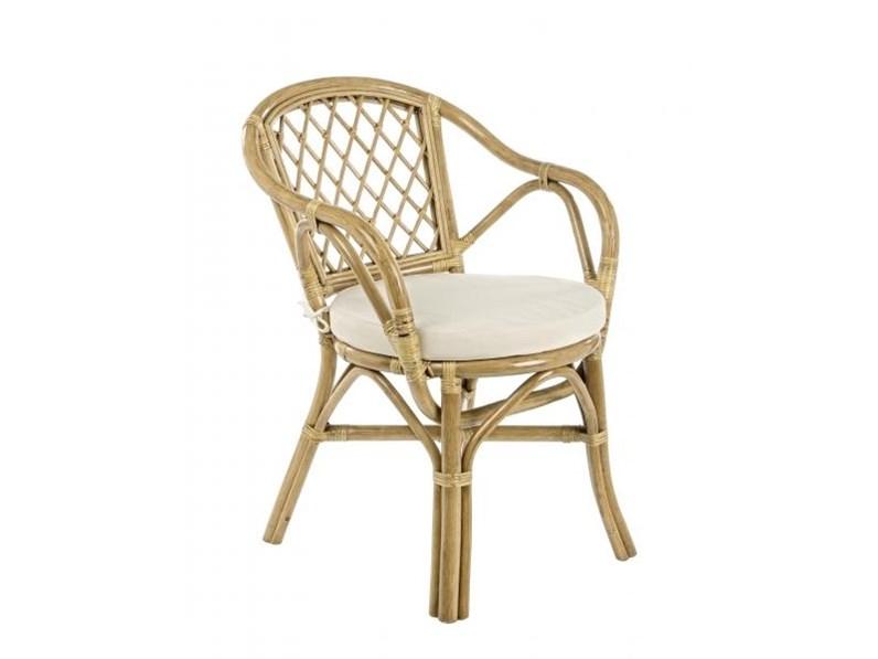 Sedia da giardino athina bizzotto offerta outlet for Arredo giardino rattan outlet