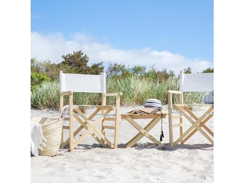 Sedia da giardino director fiam italia offerta outlet for Arredo giardino design outlet