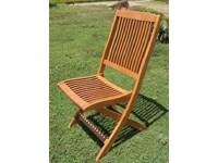 Sedia IRIS da giardino Cosma outdoor living A PREZZO OUTLET
