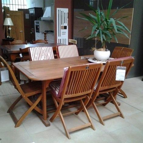 Sedie per esterni scontate arredo giardino a prezzi scontati for Arredo per esterni outlet