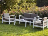 Salotto giardino narcisio divani giardino for Arredo inox crotone