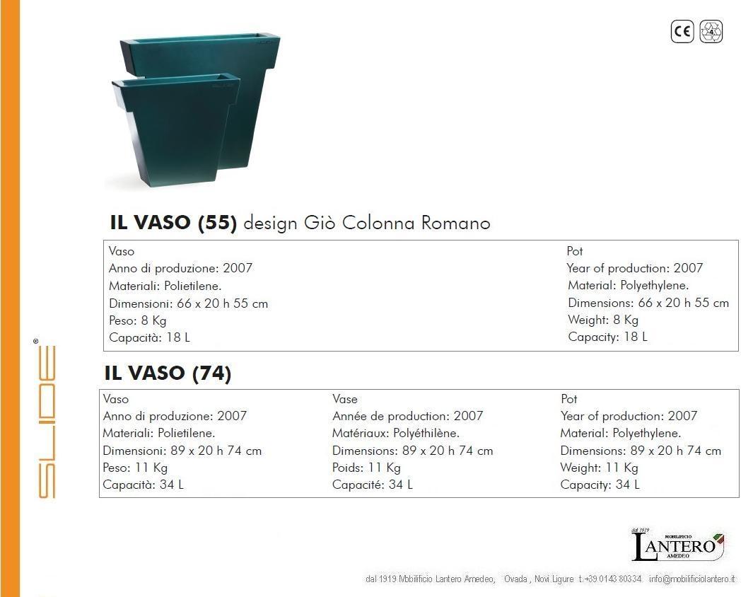 Slide slide vaso il vaso outlet vendita online slide for Outlet arredo giardino on line