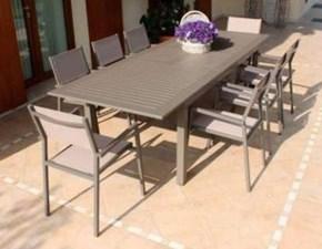 Outlet arredo giardino prezzi in offerta sconto 50 60 for Offerte tavoli da esterno