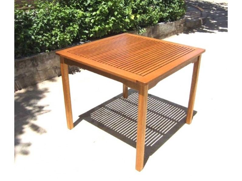 Tavolo da giardino 90 x 90 con 2 sedie iris Cosma outdoor living a ...