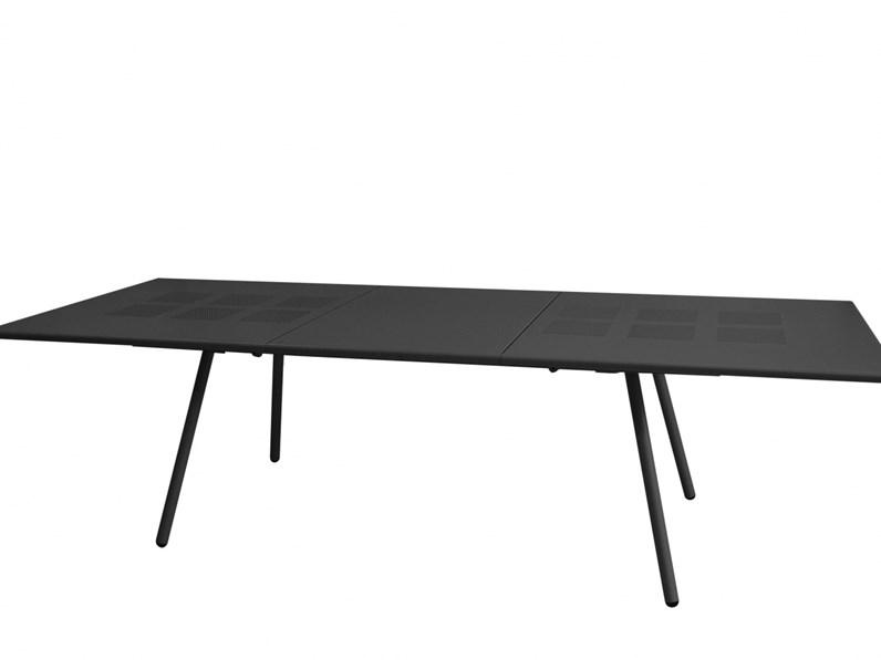 Tavolo da giardino bridge colore ferro antico emu scontato for Emu arredo giardino prezzi