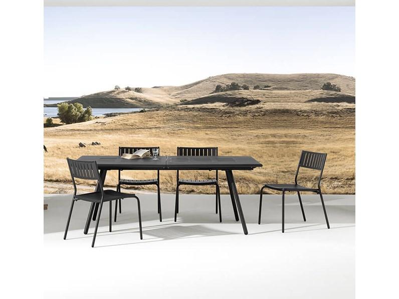 Tavolo da giardino bridge colore ferro antico emu scontato for Tavoli emu prezzi
