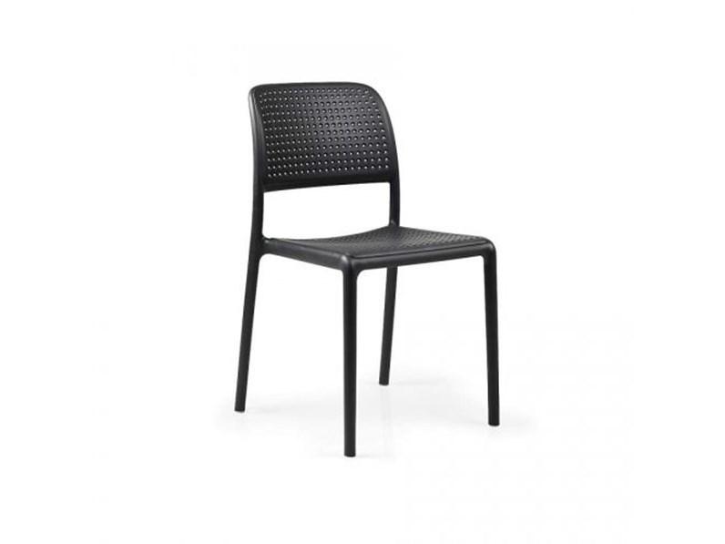 Tavolo da giardino Cube 140 x 80 con 4 sedie bora bistrot ...