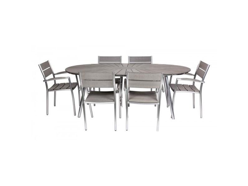 Tavolo da giardino edvin con 6 poltroncine bizzotto a for Tavolo giardino prezzo