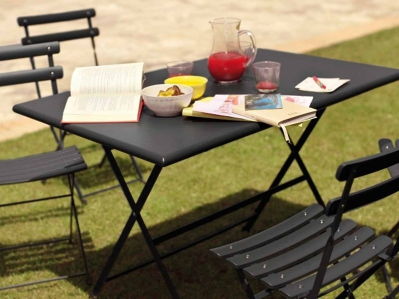 Tavolo da giardino emu arc en ciel 70x50 a prezzo outlet - Terriccio da giardino prezzo ...
