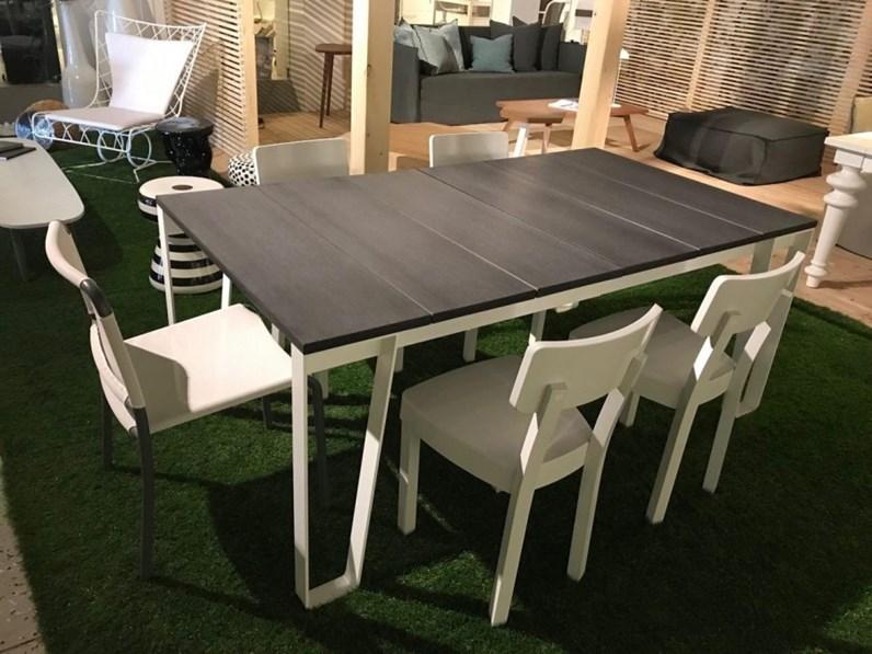 Tavolo Da Giardino Gervasoni Inout 938 A Prezzi Outlet