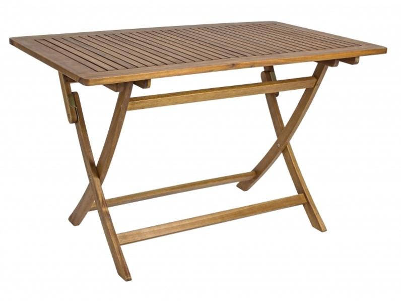 Tavolo da giardino noemi rettangolare bizzotto a prezzo for Tavolo 70 x 120