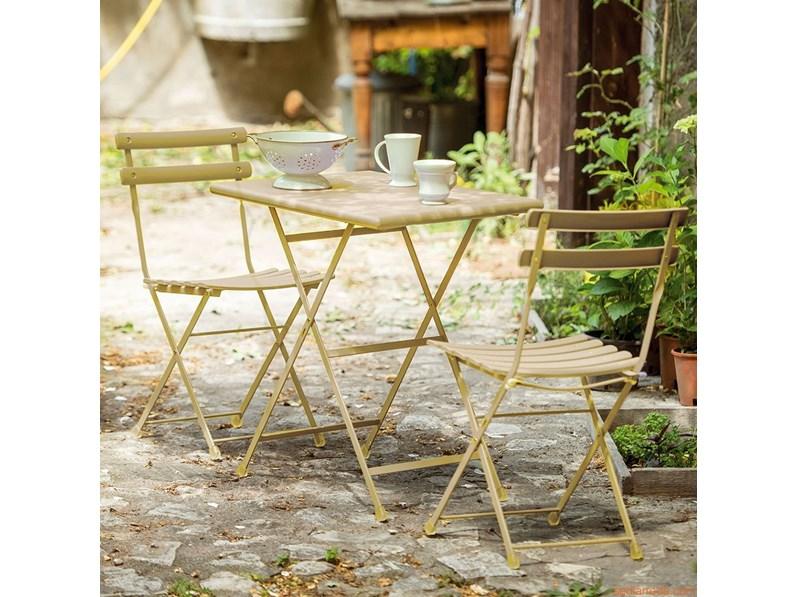 Tavoli Da Giardino Emu.Tavolo Da Giardino Set Giardino Giallo Arc En Ciel By Emu Emu A