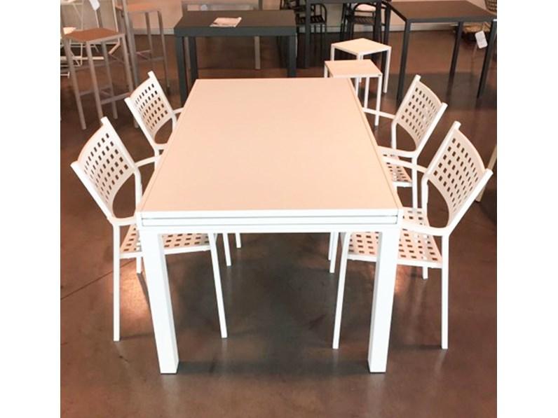 Tavolo da giardino sofy vermobil con 4 poltrone alice a - Beole da giardino prezzo ...