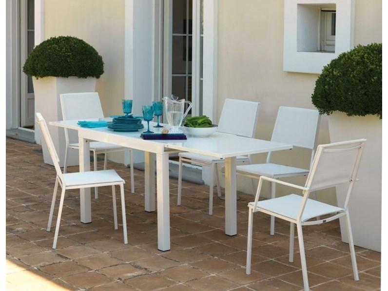 Tavolo da giardino sofy vermobil con 4 poltrone alice a for Tavolo giardino prezzo