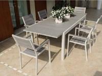 Tavolo da giardino tavolo pental tortora allungabile cm for Arredo bagno cervia