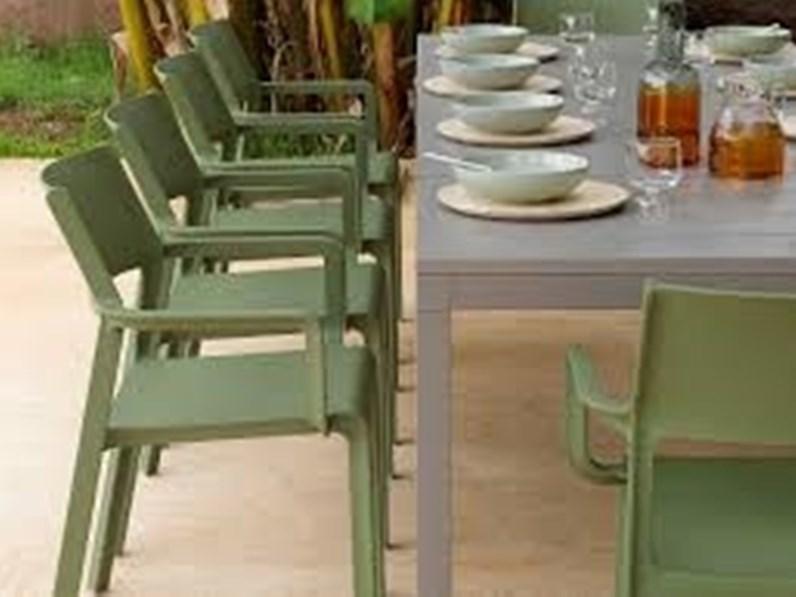 Arredo Giardino Tavolo Sedie Prezzi.Tavolo Da Giardino Tavolo Rio Sedie Trill Nardi Outdoor A Prezzo