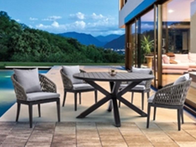 Tavolo da giardino skipper con 4 sedie pelican bizzotto a prezzo ribassato - Terriccio da giardino prezzo ...