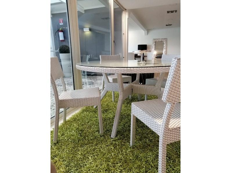 Tavolo da giardino tavolo tondo aquahome esterni for Tavolo giardino prezzo