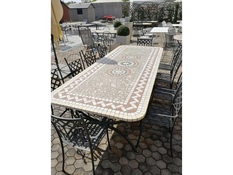 Tris tavolo da giardino a prezzi outlet for Arredo giardino on line outlet