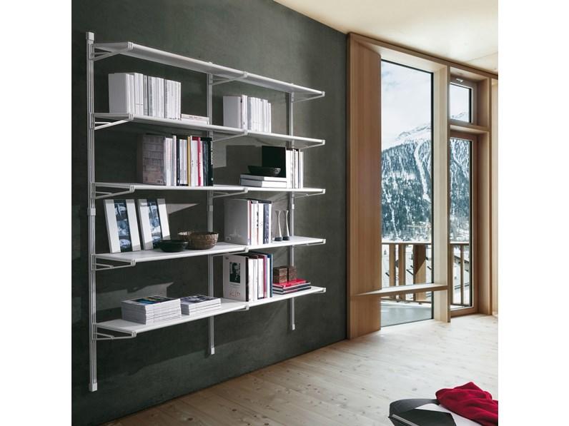 Libreria modello socrate di caimi for Outlet arredo ufficio