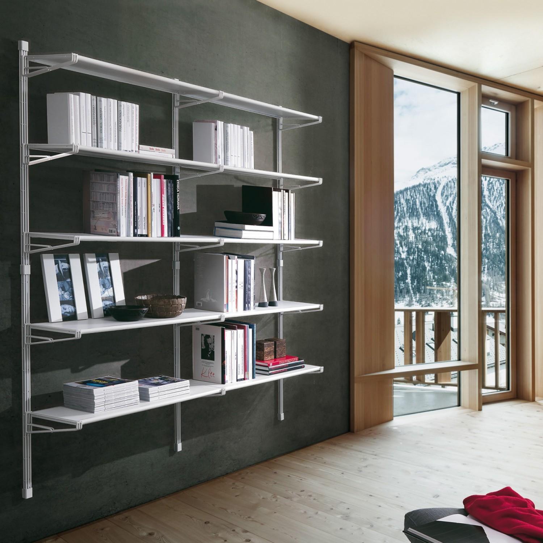 Libreria modello socrate di caimi arredo ufficio a for Mensole per ufficio