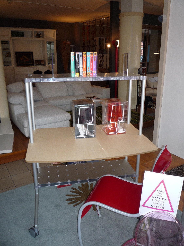 Libreria scrivania kartell arredo ufficio a prezzi scontati for Kartell mobili
