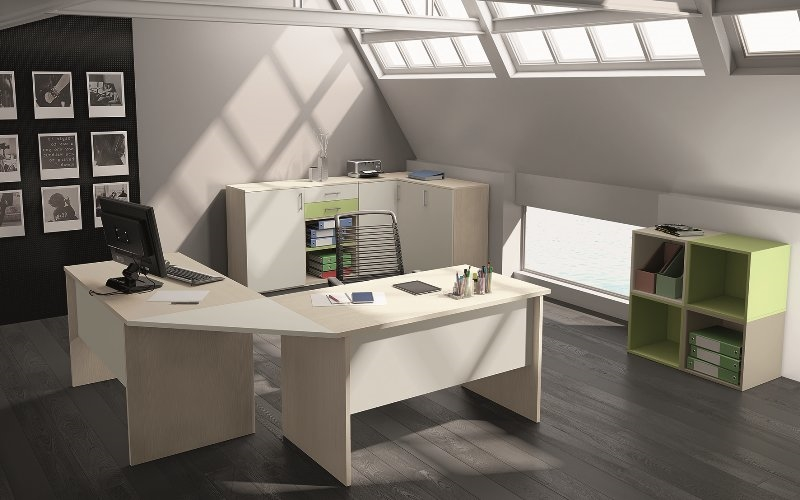 Mobili per ufficio postazioni operative marchiate san for Scrivanie ufficio prezzi