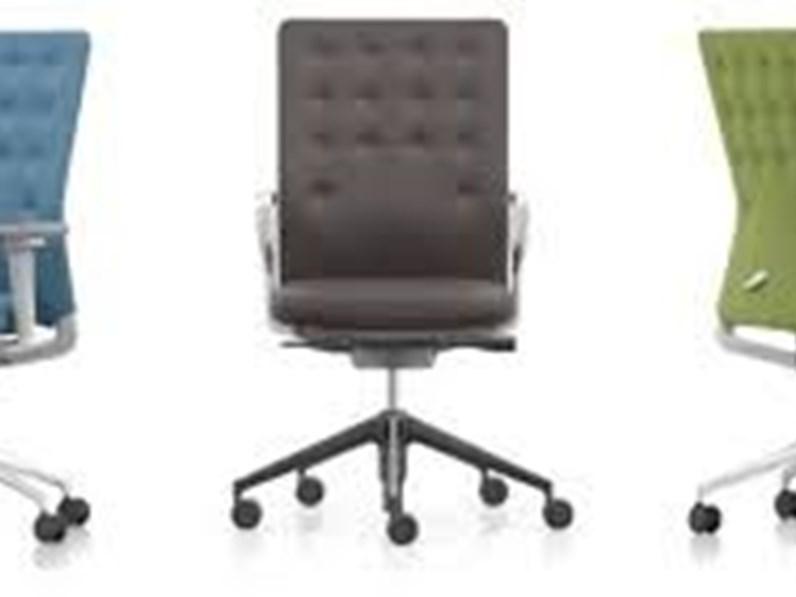 Poltrona Da Ufficio Modello Sedia Con Ruote Idm Vitra In Metallo Ad Un Prezzo Vantaggioso
