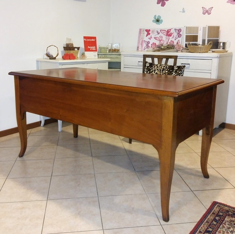 Best scrivania in legno di noce artigianle pezzo unico with scrivanie in legno - Scrivanie legno design ...