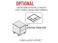 Scrivania modello Direzionale enosi evo Las mobili per ...