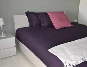 Copripiumini in Cotone modello Lino delave' 6795 colore rosa antico Flou a prezzo outlet scontato