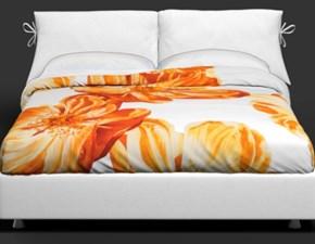 Copripiumini in Cotone modello Thaiti arancio Flou a prezzo outlet scontato