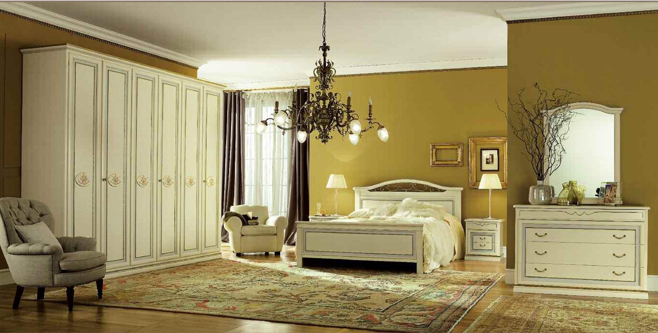 San michele pitti charm classiche legno camera completa for Camera letto legno