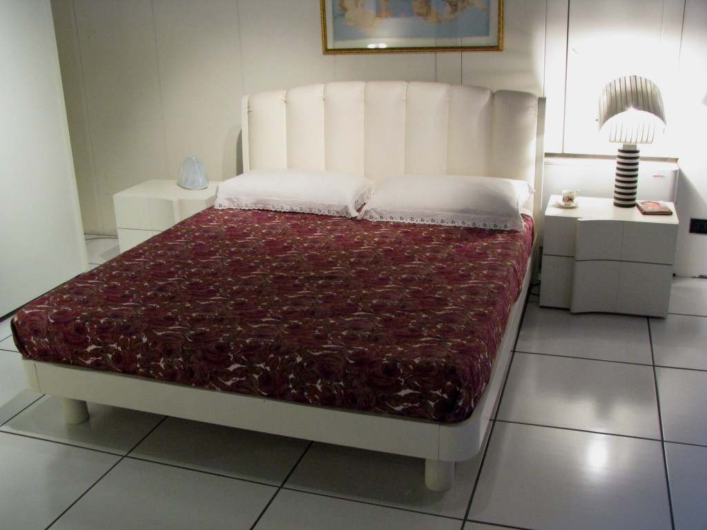 Camera completa sma mod armonia legno laccato scontata - Camere da letto sma ...