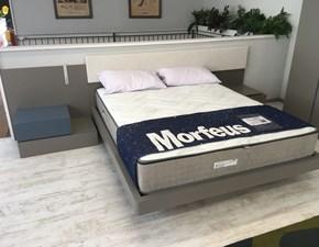 Camera da letto Camera completa santa lucia letto, comò, comodini ed armadio Santa lucia in laminato a prezzo ribassato
