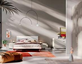 Camera da letto Camera light 21 Mottes selection in laccato opaco a prezzo Outlet