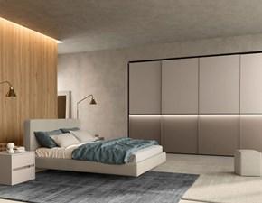 Camera da letto Colombini casa Camera da letto moderna sile contemporaneo a prezzo ribassato in legno