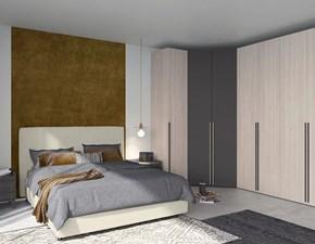 Camera da letto Colombini casa Camera matrimoniale contemporanea a prezzo scontato in legno