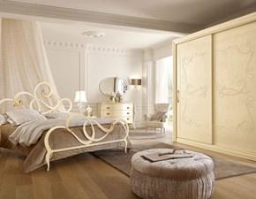 Camera da letto Composizione 02 Artigianale in legno a prezzo ribassato