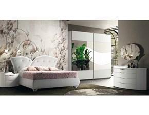 Camera da letto Desiree cromo Cecchini italia a prezzo scontato