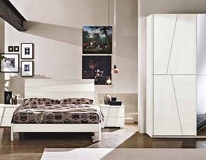 Camera da letto Gr 616 mmc Md work in legno a prezzo ribassato