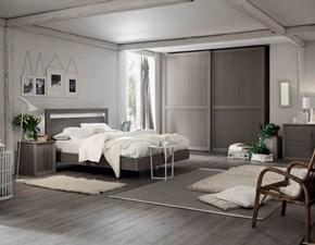 Camera da letto Iris Maronese acf in laminato a prezzo ribassato