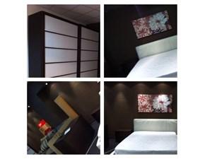 Camera da letto Lounge Rossetto arredamenti in legno a prezzo Outlet