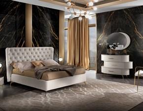Camera da letto Luxury 01 Mobilpiu in laminato a prezzo scontato