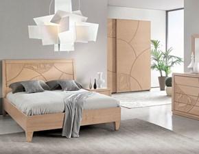 Camera da letto Mobilificio bellutti Nicole a prezzo ribassato in legno