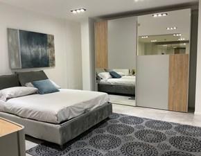 Camera da letto Mosaico Colombini casa in laminato a prezzo Outlet