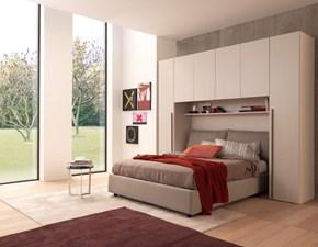 Camera da letto Ponte 292 Artigianale in laminato a prezzo Outlet