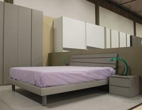 Camera da letto Ptn203 Santalucia in laminato in Offerta Outlet